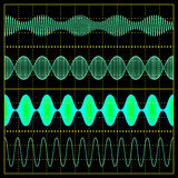Amplitude Modulation Stock Photography
