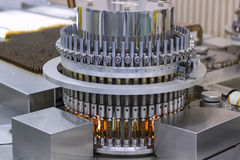 Ampola ótica farmacêutica Vial Inspection Machine foto de stock