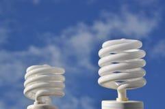 Ampola da economia de energia Foto de Stock Royalty Free