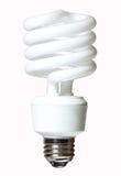 Ampola de CFL foto de stock