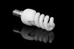 Ampola de poupança de energia Foto de Stock Royalty Free