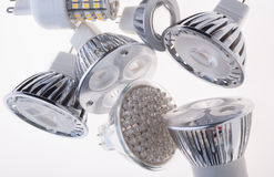 Ampola do diodo emissor de luz Imagem de Stock Royalty Free