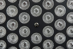 Ampola do diodo emissor de luz da economia de energia Foto de Stock Royalty Free