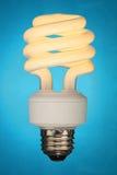 Ampola fluorescente compacta Fotos de Stock