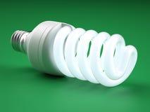 Ampola fluorescente compacta Fotografia de Stock Royalty Free