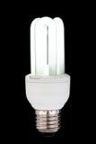 Ampola fluorescente compacta Imagens de Stock
