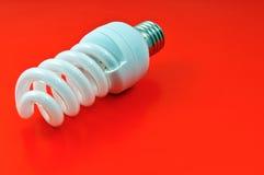 Ampola fluorescente da economia de energia Imagens de Stock