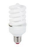 Ampola fluorescente da economia de energia (CFL) Foto de Stock
