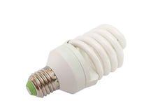 Ampola fluorescente da economia de energia isolada Imagem de Stock