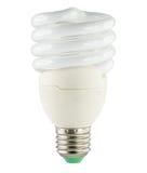 Ampola fluorescente de poupança de energia Fotografia de Stock