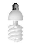 Ampola fluorescente de poupança de energia CFL Imagens de Stock Royalty Free
