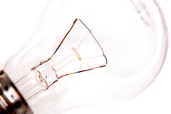 Ampola transparente Foto de Stock Royalty Free