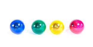 Ampolas coloridas Fotografia de Stock Royalty Free