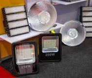 Ampolas de inundação do diodo emissor de luz imagens de stock