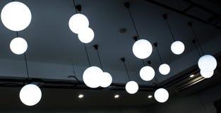 Ampolas de teto Fotografia de Stock