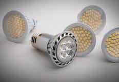 Ampolas do diodo emissor de luz Fotografia de Stock