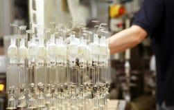 Ampolas - fábrica Imagem de Stock Royalty Free