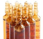 Ampolas para o uso farmacêutico e o outro Imagens de Stock Royalty Free