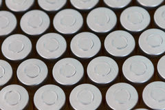 Ampolla di vetro medica Fotografia Stock