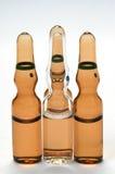 Ampollas para el uso farmacéutico Foto de archivo libre de regalías