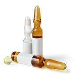 Ampolle e pillola - farmacia immagini stock