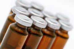 Ampolle mediche Fotografia Stock
