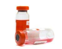 Ampolle trasparenti Immagine Stock