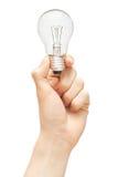 Ampoule à disposition image libre de droits