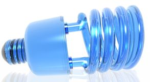 Ampoule écologique Photographie stock libre de droits
