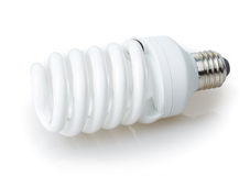 Ampoule économiseuse d'énergie images stock