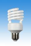 Ampoule économiseuse d'énergie compacte Images libres de droits