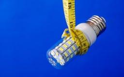 Ampoule économiseuse d'énergie de DEL Image stock