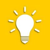 Ampoule électrique Photographie stock