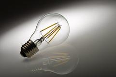 Ampoule aboutie photographie stock