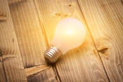 Ampoule aboutie image libre de droits
