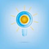 Ampoule abstraite Photo stock