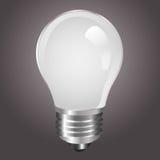 Ampoule blanche Images stock