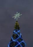 Ampoule blanche d'étoile Images libres de droits