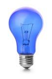 Ampoule bleue photos libres de droits