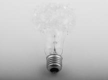 Ampoule cassée Photo libre de droits