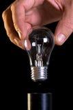 Ampoule changeante Photos libres de droits
