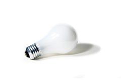 Ampoule classique d'isolement sur un fond blanc Images stock