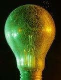 Ampoule colorée Photos stock