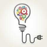 Ampoule créatrice Image stock