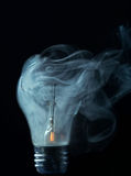 Ampoule criquée photo libre de droits