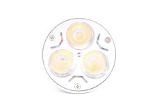 Ampoule d'économie d'énergie de DEL Photographie stock