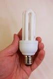 Ampoule d'économie d'Eco images stock