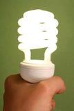Ampoule d'énergie inférieure Image stock