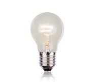 Ampoule d'isolement Photo stock