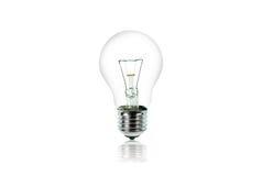 Ampoule d'isolement sur le blanc Photo libre de droits